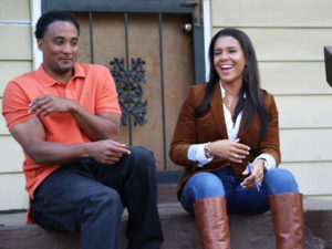 "DeRon Jenkins and Page Turner star in HGTV's ""Joined At The Flip."""